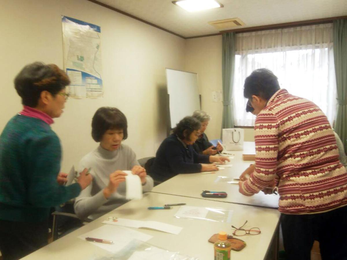 12/6 ラッピングとお手紙書き
