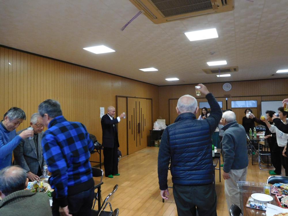 1/12 役員会・定例会&新年会を開催しました